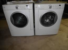kenmore front load dryer. kenmore high capacity front loading washer and dryer load 0