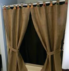 shower curtains with valance and tiebacks tie back teawing co 19