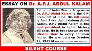 inspirational quotes in english by apj abdul kalam  essay on apj abdul kalam in english best essay