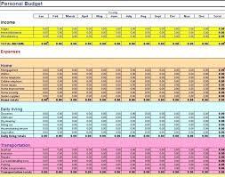 Excel Budget Spreadsheet Template Budget Worksheet Template Excel