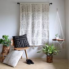 white mud cloth tapestry mudcloth wall hanging african mudcloth geometric wall art  on mud cloth wall art with white mudcloth tapestry large wallhanging african mudcloth wall