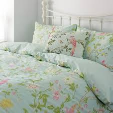 laura ashley bedding set ideas pastel green fl pattern
