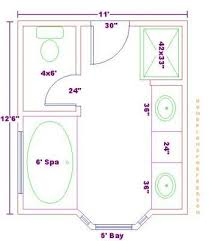 Master Bathroom Dimensions Cool Inspiration Ideas