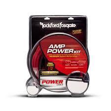Dual Amp 1/0 AWG Dual Amp Wiring Kit