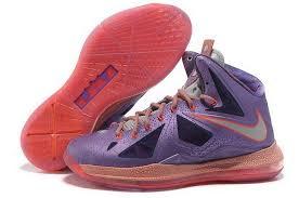 lebron purple shoes. nike lebron 10 x \u0027all star\u0027 purple silver red basketball shoes | glamorous,super quality