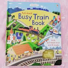 pull back busy train book an usborne book love love love this book