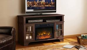 menards electric fireplace oak