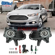 Ford Mondeo Fog Lights Switch Details About 13 16 Fit Ford Fusion Clear Lens Pair Bumper