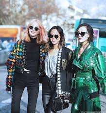 jacket coat leather coat silver top girl squad streetstyle green coat black jacket studs studded jacket studded pants black pants