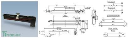 Slide Pot Motorized 10k Linear Taper Electronics123