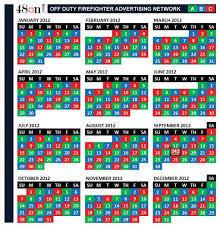 Firefighters Shift Calendar 2020 Firefighter Shift Calendar Calendar Free Calendar