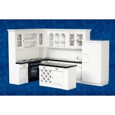 dollhouse kitchen furniture. kitchen set4blkwhtcb dollhouse furniture e