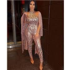 <b>sexy Gold sequin</b> jumpsuit mesh Romper Summer Women Glitter ...