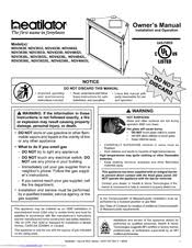 heatilator gas fireplace ndv4236i manuals heatilator gas fireplace ndv4236i owner s manual