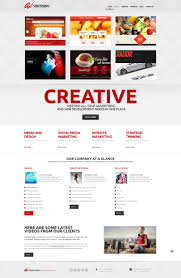 website advertisement template advertising company wordpress theme