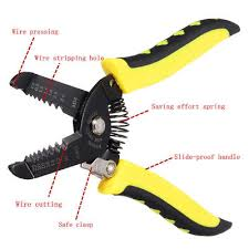 Adjustable Automatic <b>Cable Wire Stripper Crimper</b> Crimping Plier ...