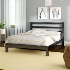 Amazing Platform Bed Frame Furniture Row Menards Diy Full Plans Tall ...
