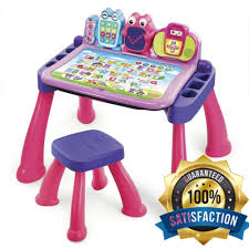 educational toys for 2 year olds activity learning desk girls toddler pink play