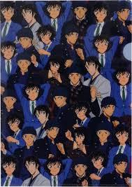 Amazon.com : Clear Plastic Folder Detective Conan (Akai Xiu Sera) 22 x 31cm  Made in Japan : Office Products