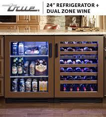 open refrigerator door. all true undercounter refrigerators are rated for open-food storage, making them safe to open refrigerator door