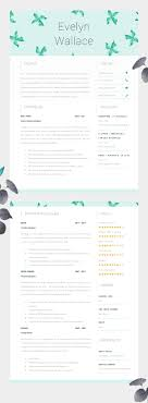 17 best ideas about creative cv design cv design high impact resume template two page cv cover letter advice printable for word the fielding creative cv beautifully designed