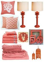 Coral Home Decor Accents Exciting Coral Colored Decorative Accessories Photos Best 2