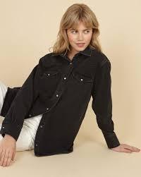<b>Джинсовая рубашка</b> в интернет-магазине — <b>12Storeez</b>