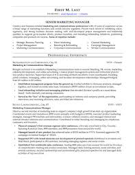 Mid Career Resume Sample Professional Resume Examples