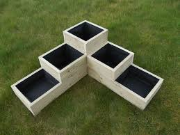 Large wooden planter Made from first quality pressure treated, tanalised  timber.