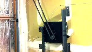 garage door opener install zero clearance garage door opener side garage door opener garage door opener install on low ceilings low clearance garage door