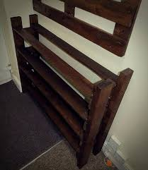 Wooden Coat And Shoe Rack Hallway Pallet Coat Rack And Shoe Rack 100 Pallets 89