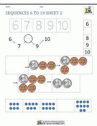 Free Kindergarten Worksheets Spot The Patterns Number Patt ~ Koogra