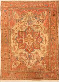 120 years old heriz rug