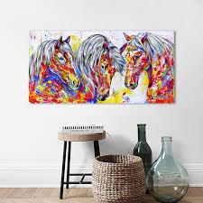 2019 <b>HDARTISAN Wall Art Canvas</b> Painting Animal Picture Three ...
