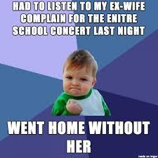 Divorce Memes on Pinterest | Divorce, Divorce Party and Funny ... via Relatably.com