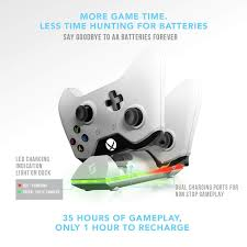 Xbox One White Light Sliq Xbox One One X One S Controller Charger Station And