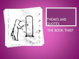 themes and quotes the book thief ppt video online  1 themes and quotes the book thief