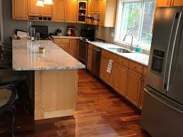 to paint the yellowing maple cabinets