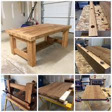 wood working project coffee table