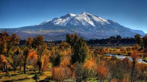 autumn mountains backgrounds. Nature Mountains Autumn Mountain Trees Rivers Snow Rocky Desktop Backgrounds : HD 16:9 E