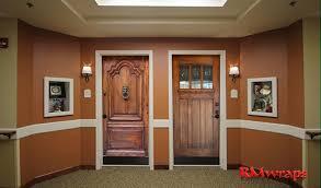 Door Wraps Assisted Living Custom Door Wraps Rm Wraps