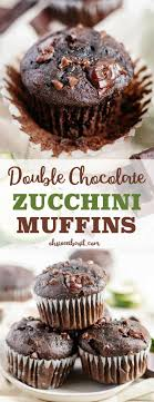 Garden Light Muffins Double Chocolate Zucchini Muffins Are A Great Way To Use