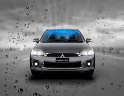 2018 mitsubishi lancer australia. beautiful lancer rain sensing wipers and dusk headlamps in 2018 mitsubishi lancer australia