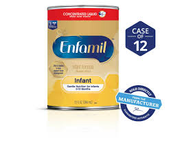 Enfamil Newborn Formula Feeding Chart Enfamil Infant Formula Concentrate Liquid 13 Fl Oz Can Case Of 12