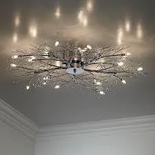 euro design lighting. modern branch chrome possini euro design ceiling light lighting s