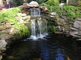 backyard ponds and waterfalls. Plain Waterfalls Design Waterfall Design  Pond Construction Pacific Ponds U0026 Intended Backyard And Waterfalls E