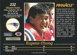 """Virginia Tech Football on Twitter: """"Eugene Chung - one of 93 Tech players  drafted by @NFL during @Beamer_Ball era. #TBT @Patriots @kcchiefs  http://t.co/Zx4npAVgX7"""""""