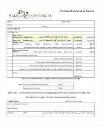 Simple Purchase Order Form Free Template Request Excel Dazzleshots