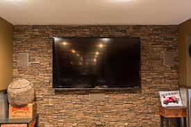 faux stone panels inspiring finished bat designs 4x8 painting concrete walls ideas white brick paneling