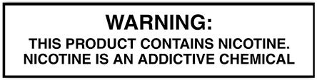 Vape Juice Nicotine Chart Custom Ejuice E Liquid For E Cigarettes The Vape Mall